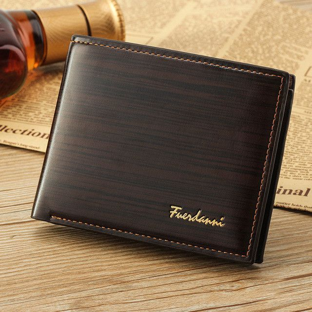 Men Vintage Leather Luxury Wallet - Available in Blue, Brown, Chocolate colors