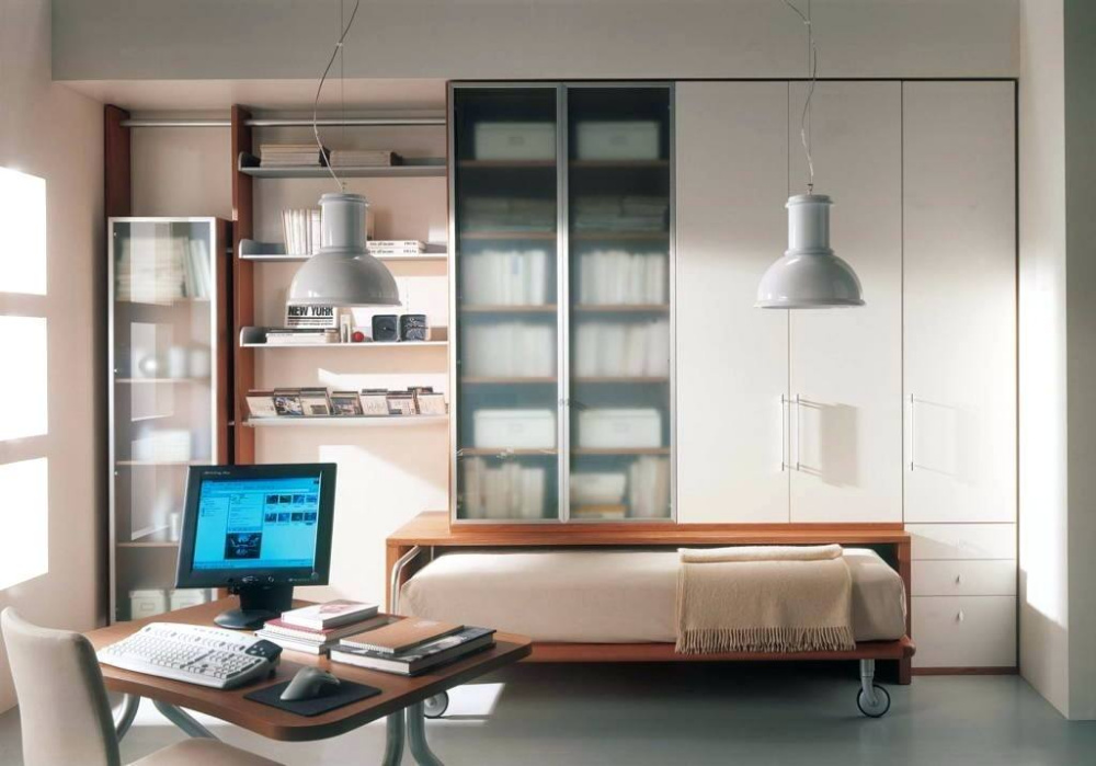 hidden bed ideas bedroom space saving beds ideas with