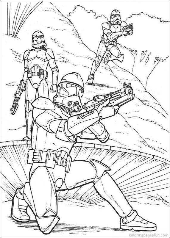 Star Wars Coloring Page | Coloring Pages of Epicness | Pinterest ...