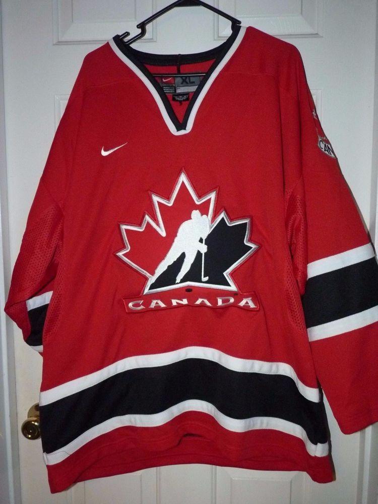 Men S Xlg Nike Team Canada Hockey Team Red White Black Jersey Nwot Christmas Nike Teamcanada Team Canada Hockey Team Canada Hockey Teams