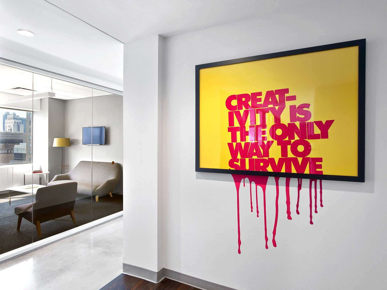 Office Tour Mccann Worldgroup Offices New York City Dizajn Ofisnogo Interera Ofisnye Steny Ofisnyj Dekor