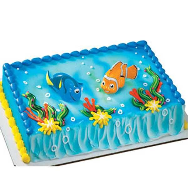 Finding Nemo Cake Decorating Kit 2 Pieces includes 1 Nemo 1 Dory