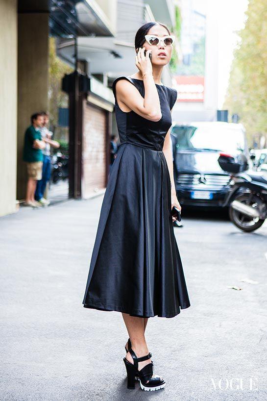 Milan Fashion Week SS 2014 Street Style