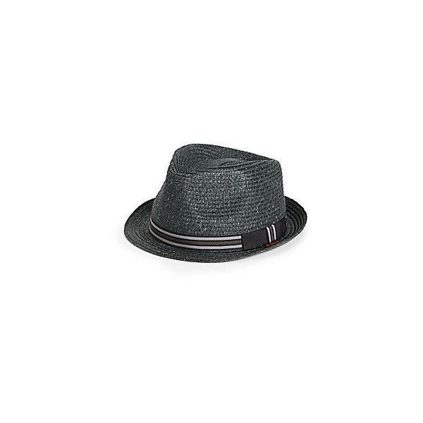 09f50245756f3 Ben Sherman Straw Fedora ( 20) ❤ liked on Polyvore featuring men s fashion