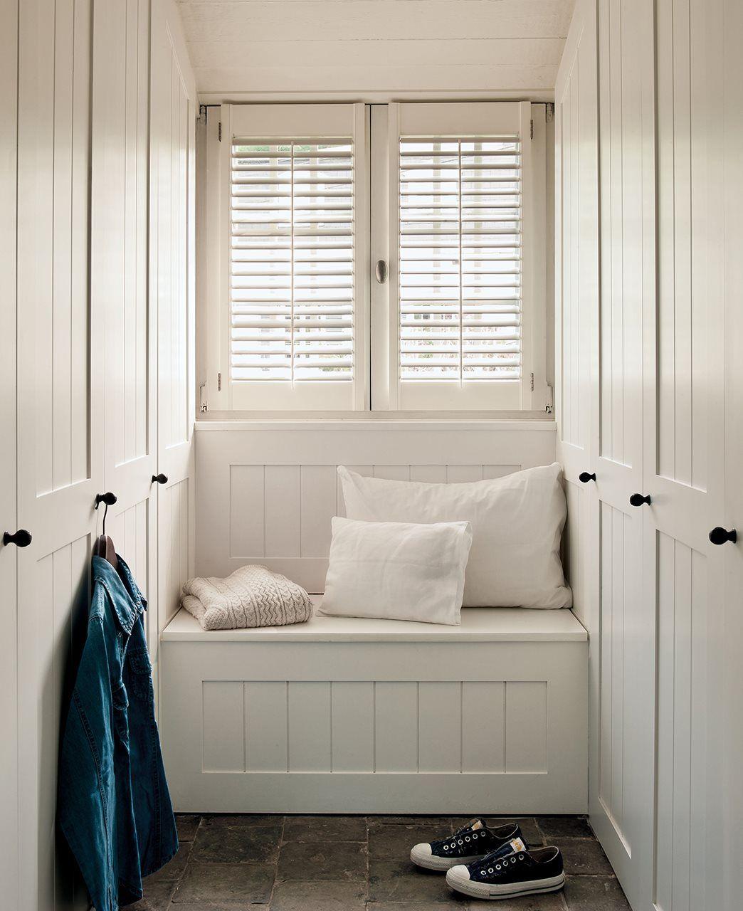 7 Muebles A Medida Para Aprovechar Cada Cm Elmueble Com  ~ Vestidores En Habitaciones Pequeñas