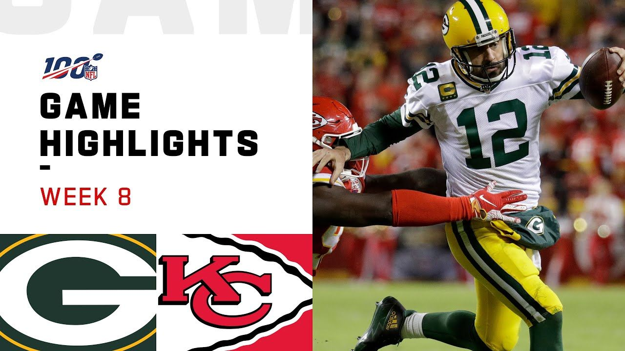 Packers vs. Chiefs Week 8 Highlights NFL 2019 YouTube