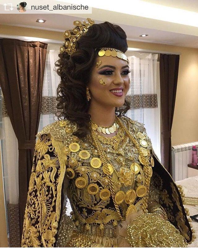 Frizura Albanische Hochzeit Festliche Kleider Abendkleid