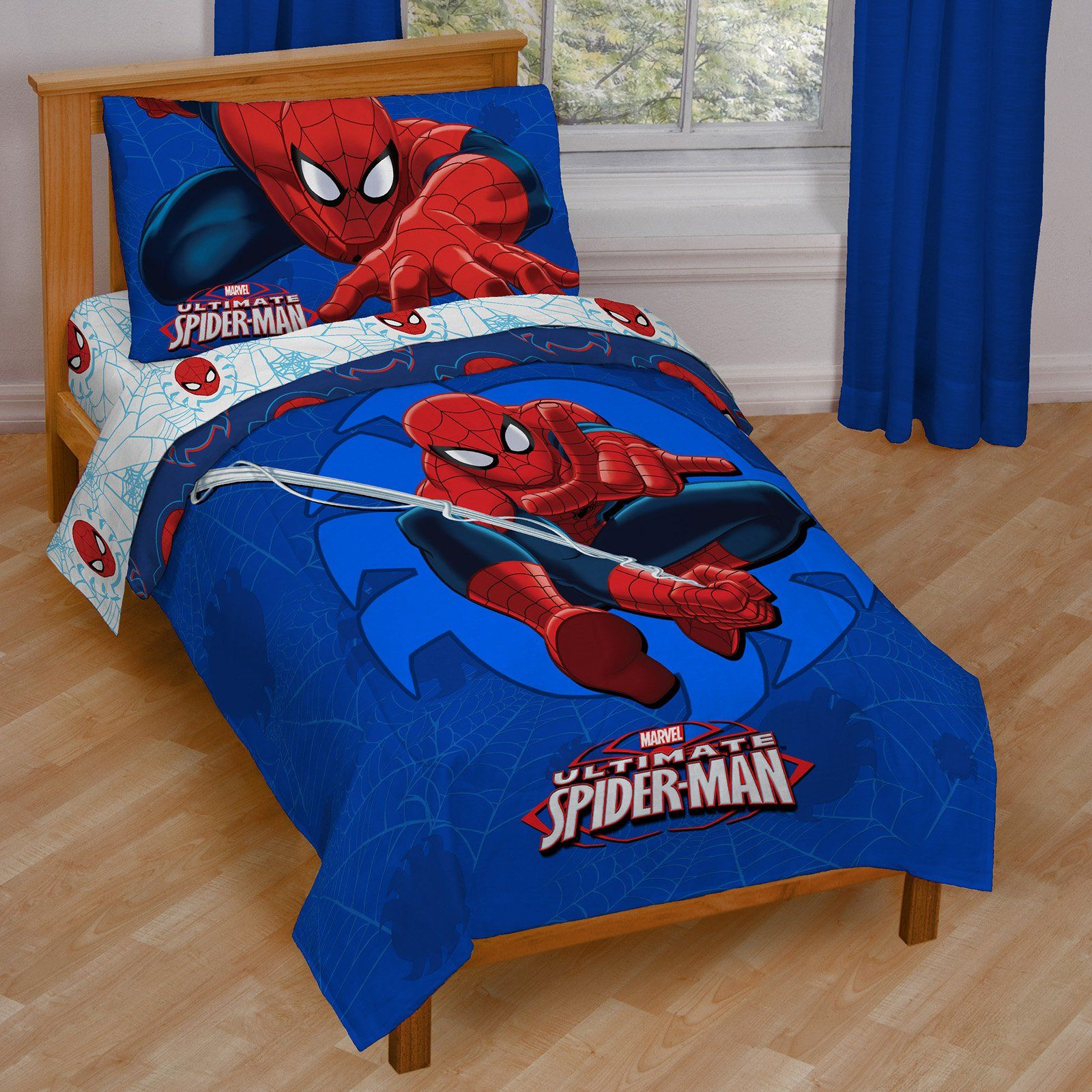 spiderman decals bedroom a decoration cover twin box wall halo toddler sets free size bedding bed avengers duvet shipping full cotton marvel set design today in canada piece bag room comforter