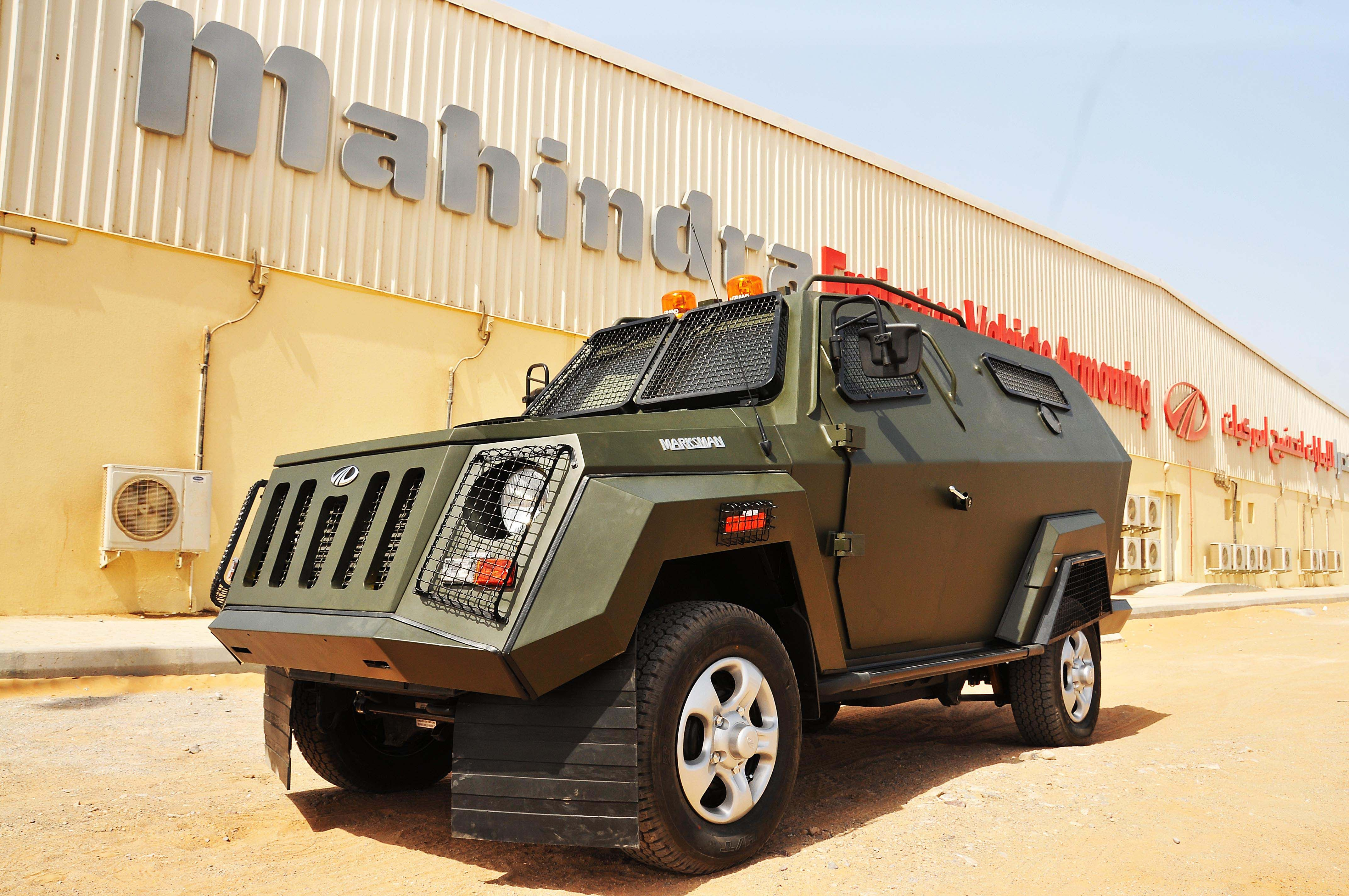 Mahindra Marksman Armoured Personnel Carrier Armor Airbus