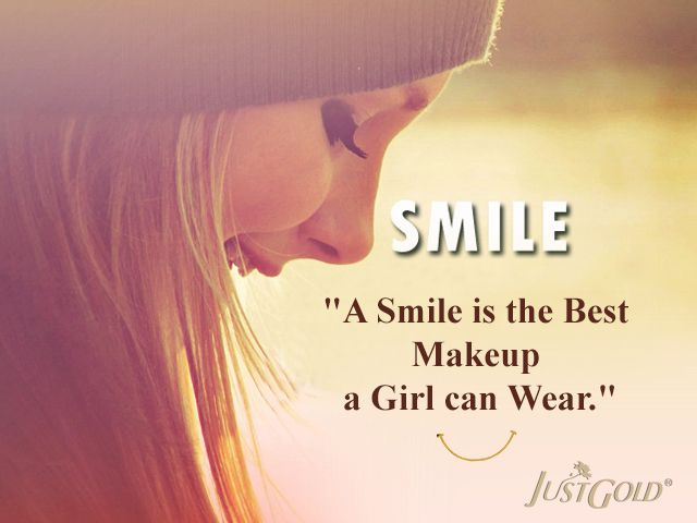 A Smile Is The Best Makeup A Girl Can Wear Beauty Quotes Girl