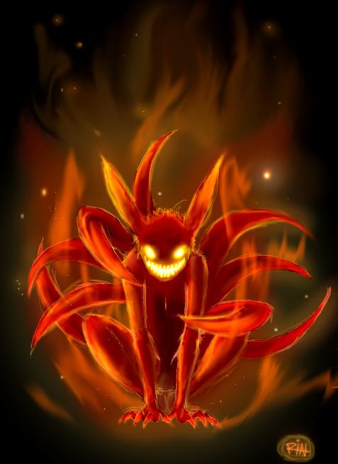 Demon Fox By Bloodlinev On Deviantart Naruto Uzumaki Wallpaper Naruto Shippuden Naruto Shippuden