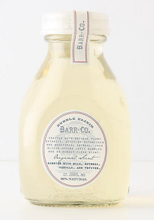Barr-co luxurious bubble bath