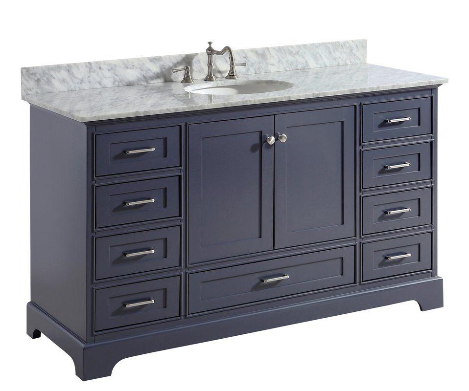 Diodorus 60 Single Bathroom Vanity Set Single Bathroom Vanity
