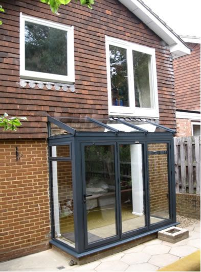 Front Rear Porches Installation London Glass Porch Porch