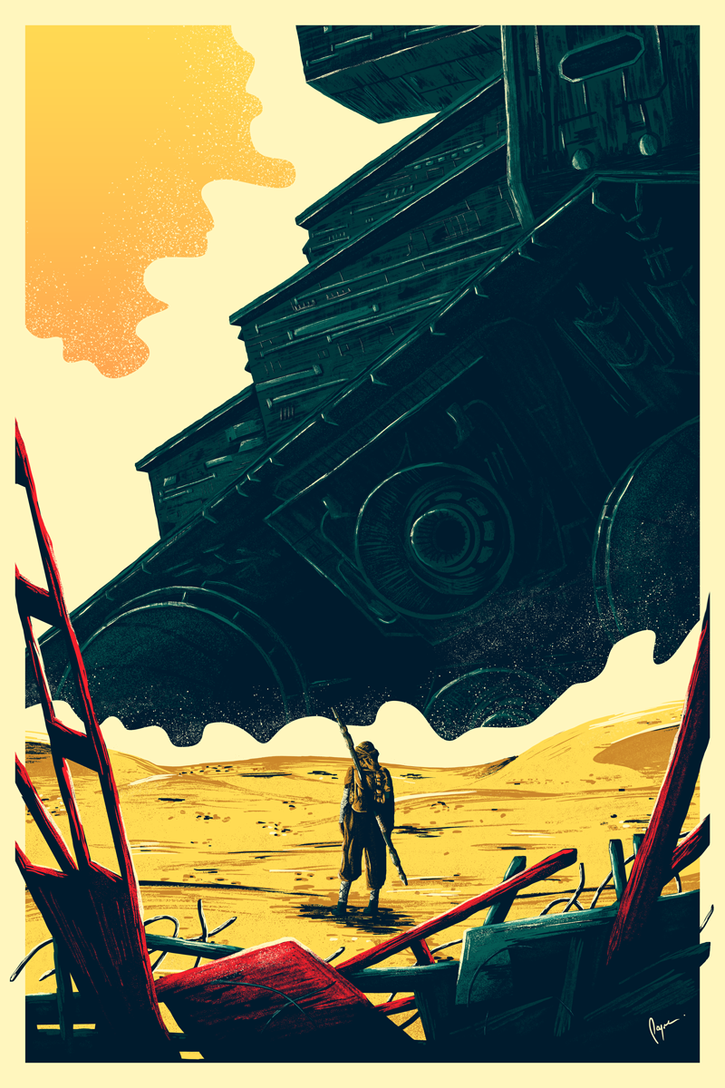 Beautiful tribute to Star Wars The Force Awakens by