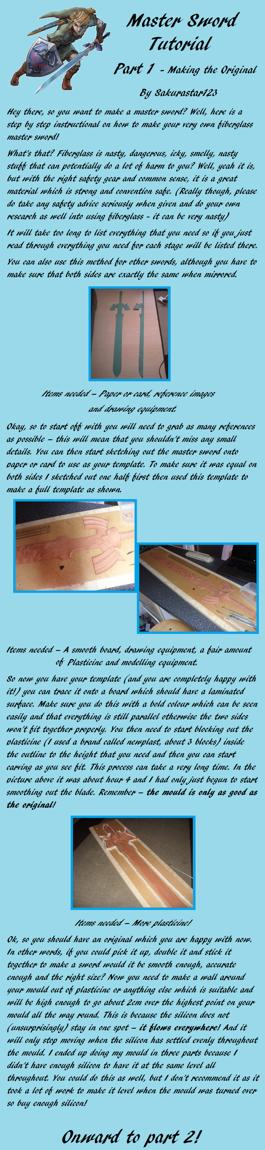 Master sword tutorial part 1 by sakurastar123 on deviantart master sword tutorial part 1 by sakurastar123 on deviantart link cosplaycosplay baditri Images