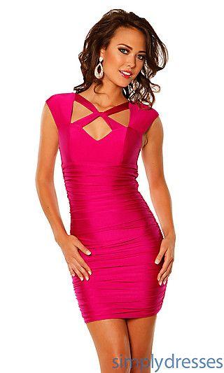 PromGirl.com Short Red Dresses