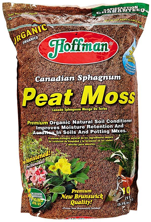Hoffman 15503 Canadian Sphagnum Peat Moss, 10
