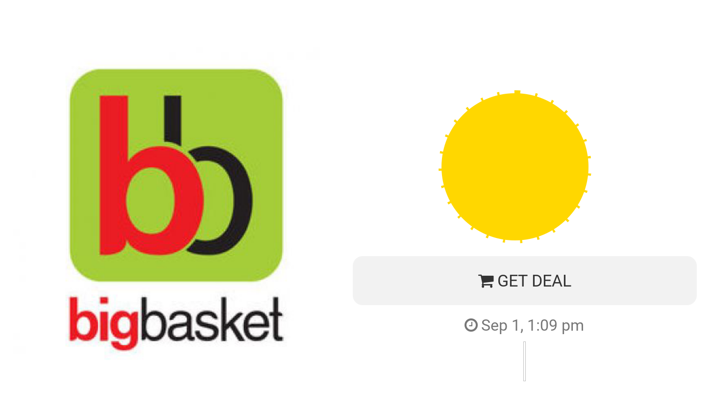 25% Cashback (Max Rs 250) on Bigbasket Purchase of Rs 600