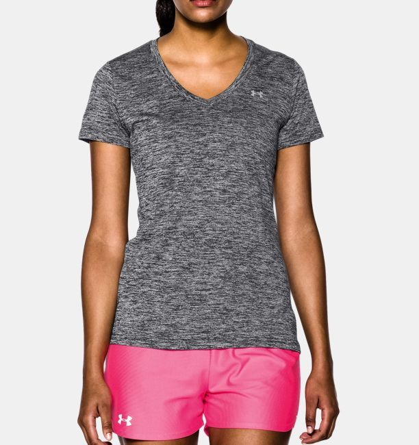 222553a45c Shop Under Armour for Women's UA Tech™ Twist V-Neck in our Womens ...