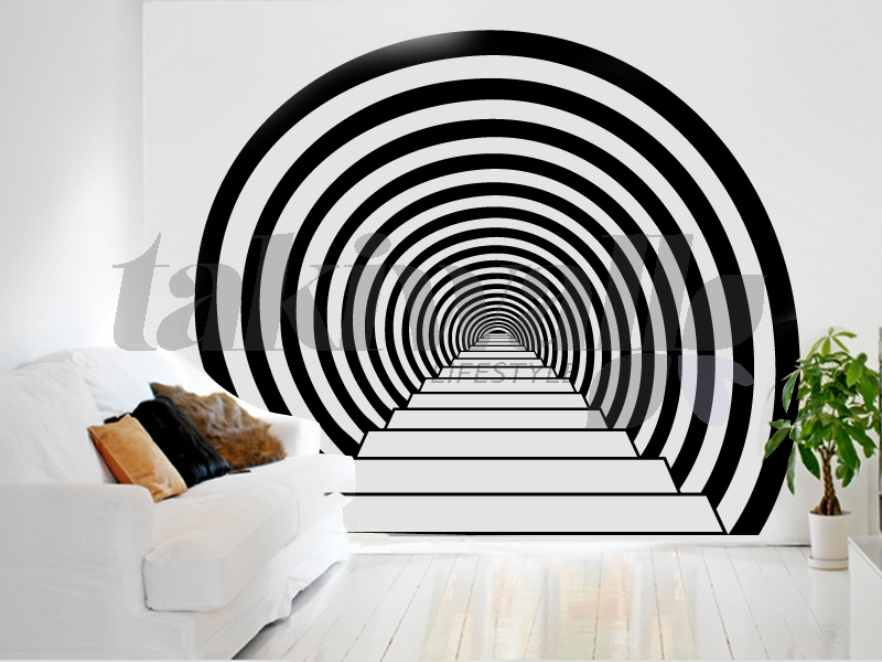 Wall Stickers Art Recherche Google Landscape Wall Stickers - 3d effect wall decals
