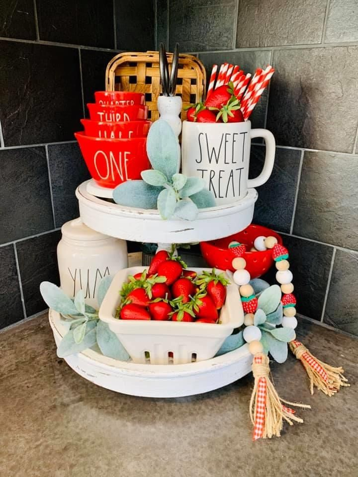 Pin by Christine Ortega on Tiered Trays in 2020 Tiered
