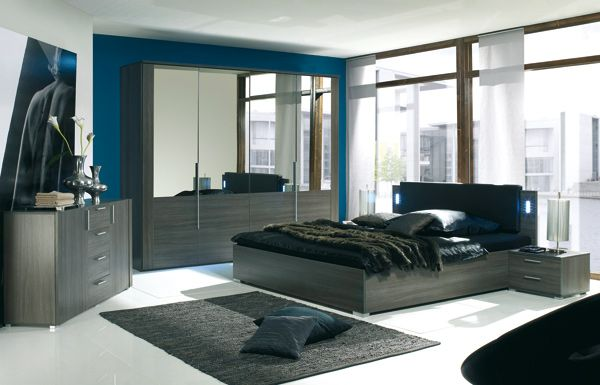 1000 images about dco chambre adulte on pinterest - Chambre Couleur Bleu