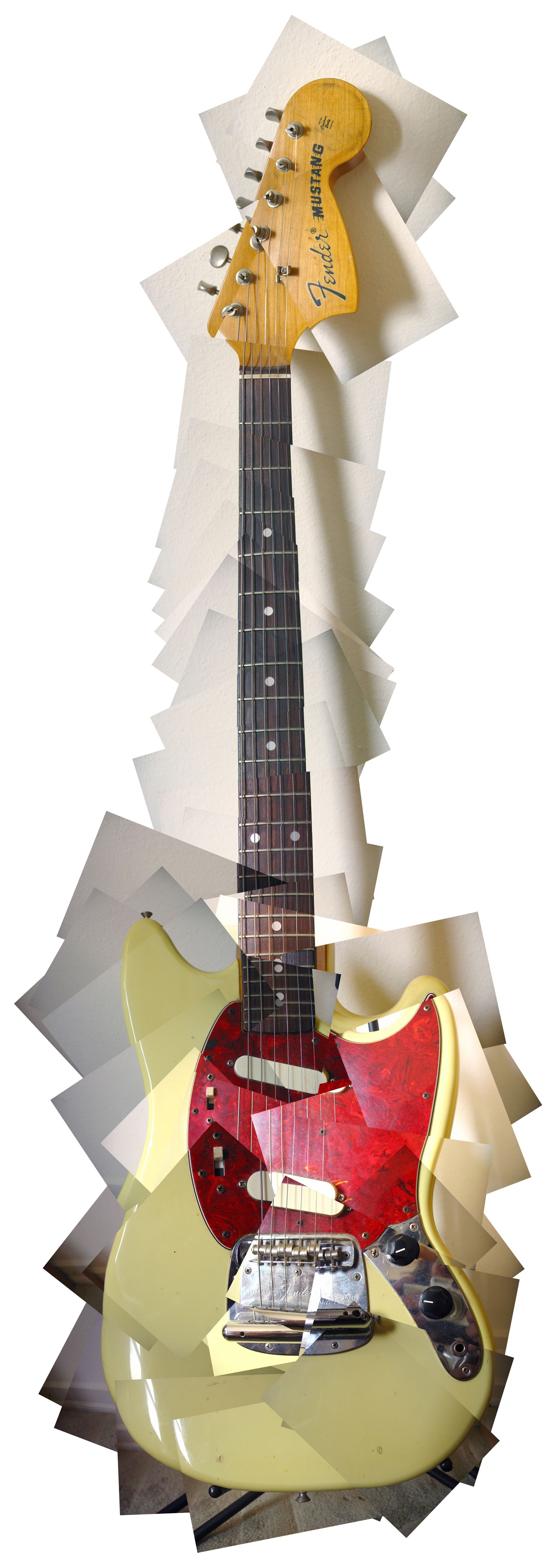 Fender Mustang puzzle