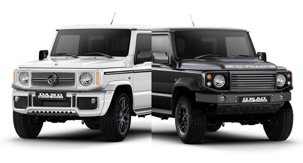 Make Your New Suzuki Jimny Look Like A G Class Or A Defender With