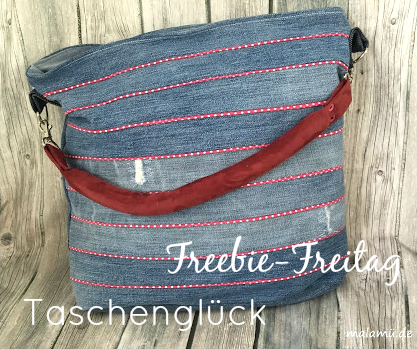 Freebie Friday in September: Taschenglück (Hecho a mano el martes)