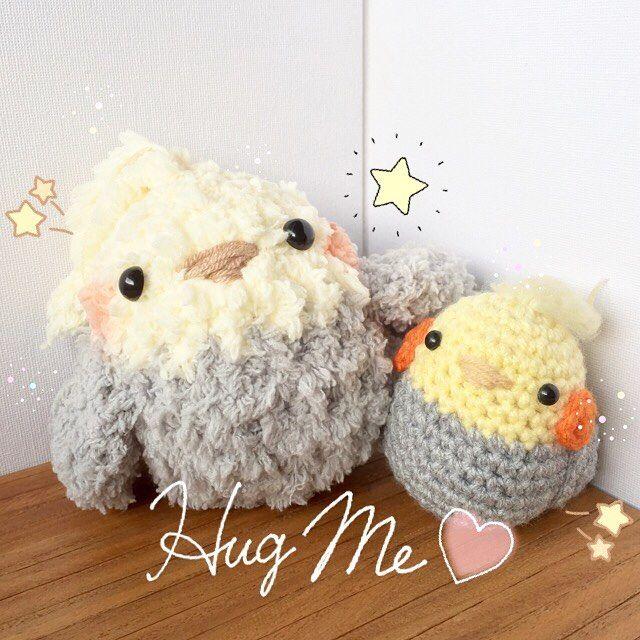 ☁ Balls of fruffs ☁ #crochet #amigurumi #parrot #bird ...