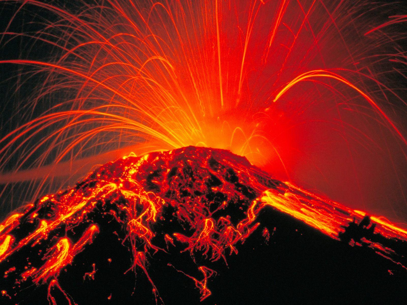 Nature Scenes - Volcanoes (Vulcani)