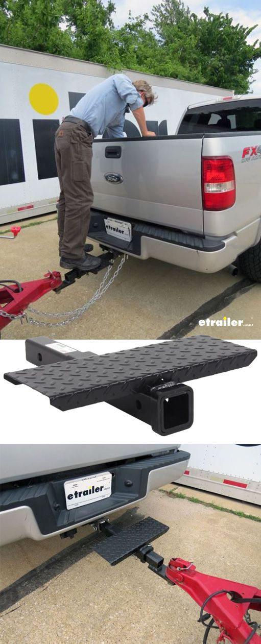 Brophy Hitch Extender With Step 2 Hitches 19 Long 6 1 2 X