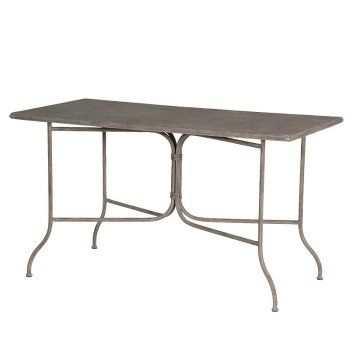 3ec6e268a809 Large Rectangular Metal Folding Garden Table