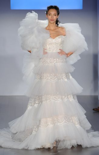 b0a052fc605 The 10 Most Outrageous Dresses From Bridal Fashion Week