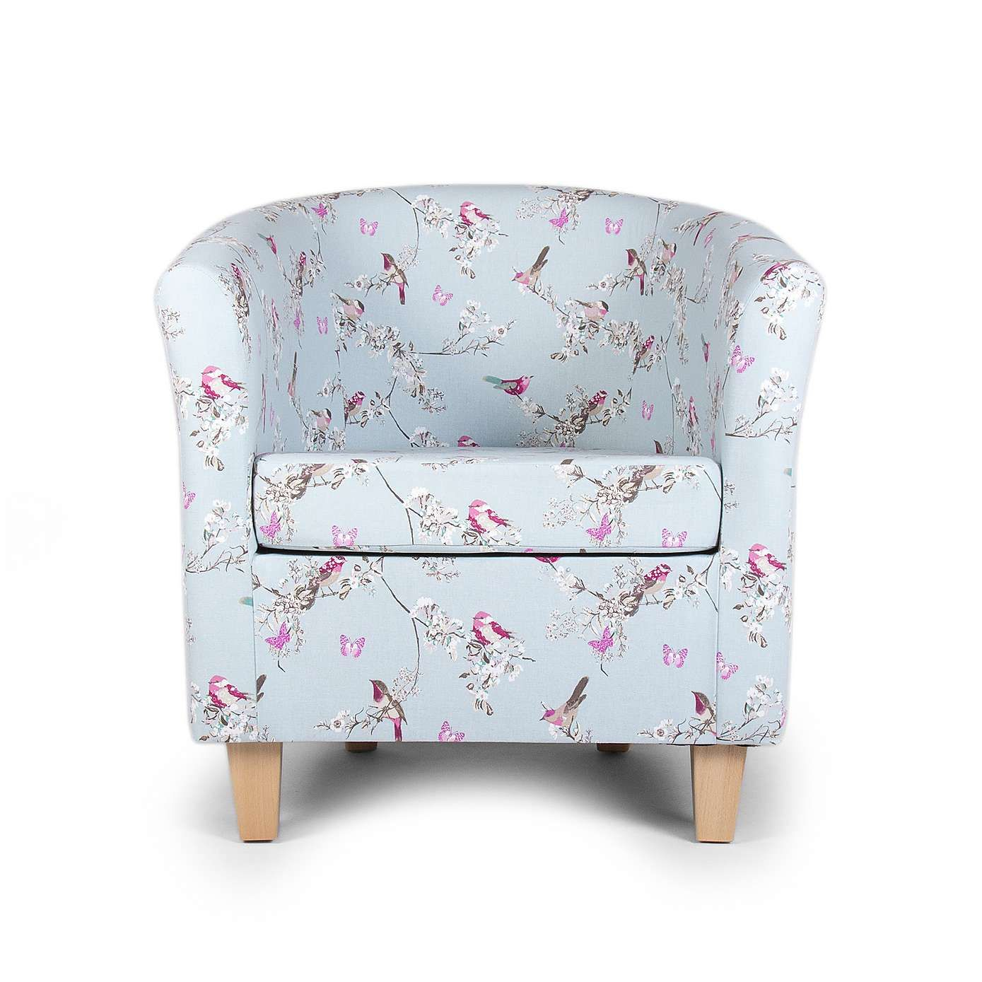 Beautiful Birds Tub Chair