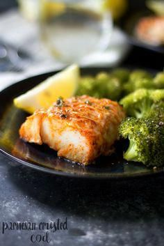 Parmesan Crusted Cod images