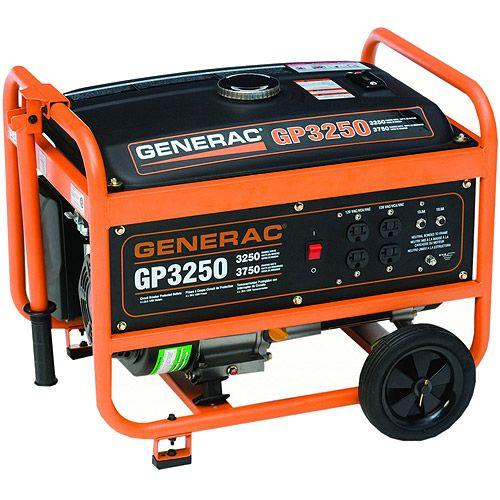 Home Improvement Portable generator, Gas powered