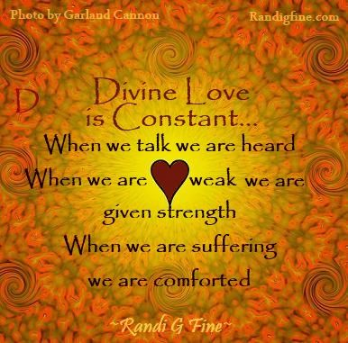 Divine Love Picture Quote See On Scoop.it   Inspirational Life Quotes Randi  G Fineu0027s Insight:Encouraging Picture Quote About Spiritual Love.