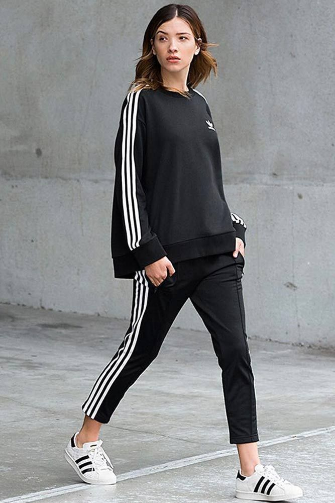 buy popular e227b 96190 + Adidas Pants Outfit Ideas  Super Combo of Comfort and Beauty ☆ See more