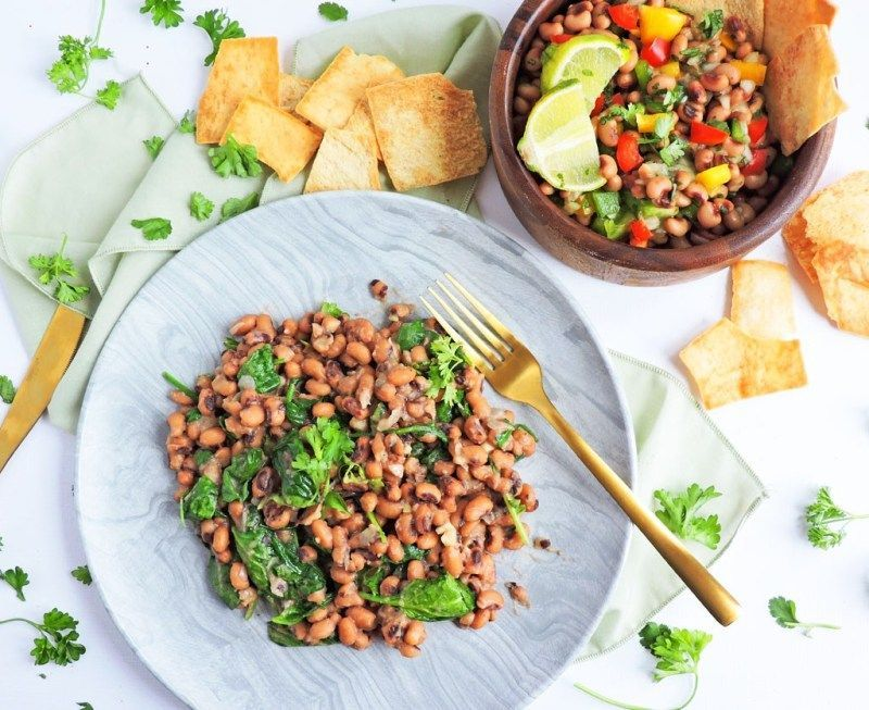 Healthy BlackEyed Pea Appetizers for New Year's Eve