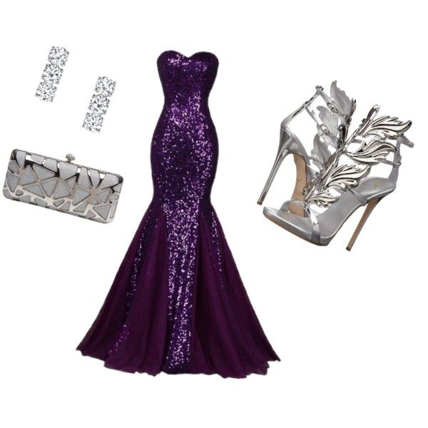 Red Carpet look by mizpah-waters on Polyvore featuring polyvore, fashion, style, Giuseppe Zanotti and clothing