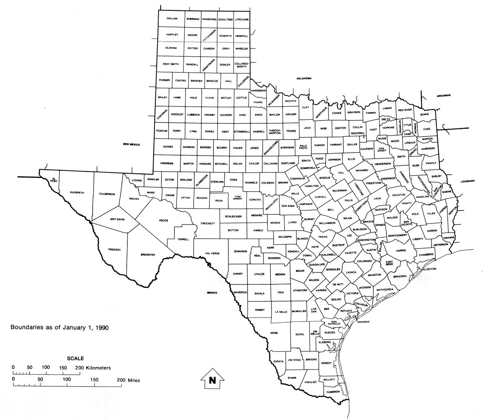 Fort Bend County Is A County In The US State Of Texas - Map of tex