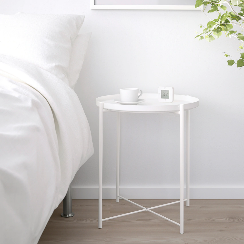 Gladom Tray Table White 17 1 2x20 5 8 Ikea Tray Table Bed Frame With Storage Ikea Side Table