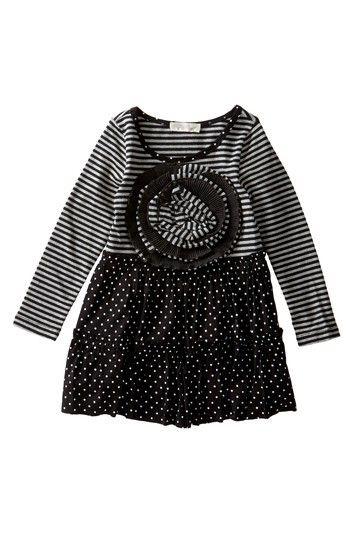 Rosette Dress (Baby, Toddler, & Little Girls) by Hannah Banana on @HauteLook