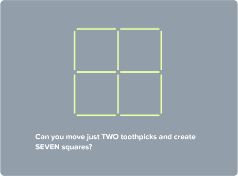 Toothpick Squares | CoolMath4Kids | Powerpoint | Pinterest | Brain ...