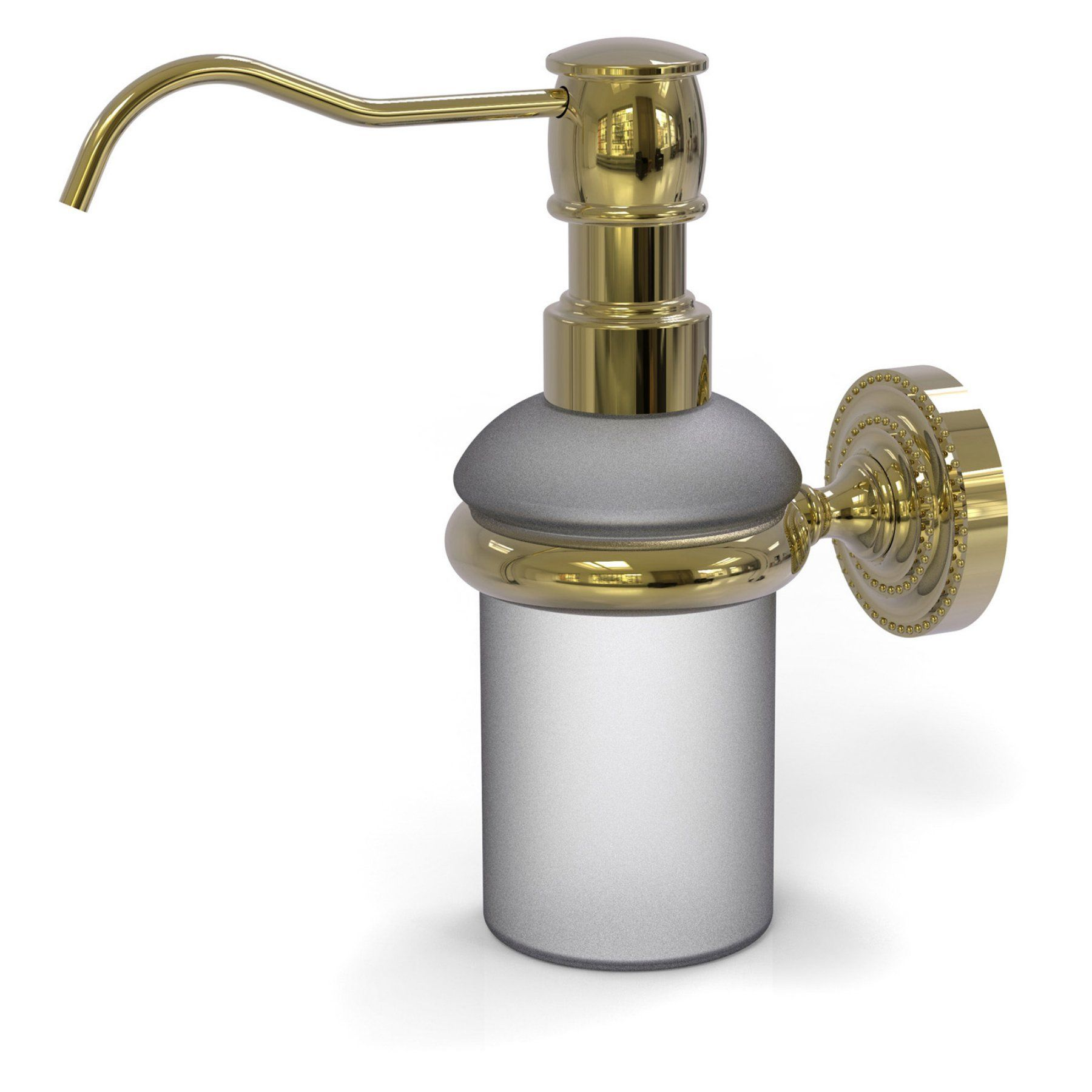 Wall Mounted Soap Dispensor Antique Bronze