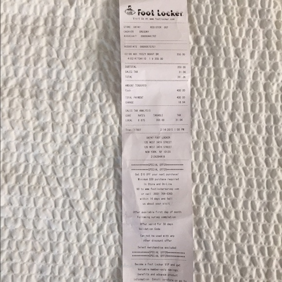 Adidas Shoes - Yeezy boost 750 with receipt from footlocker  47eda1950