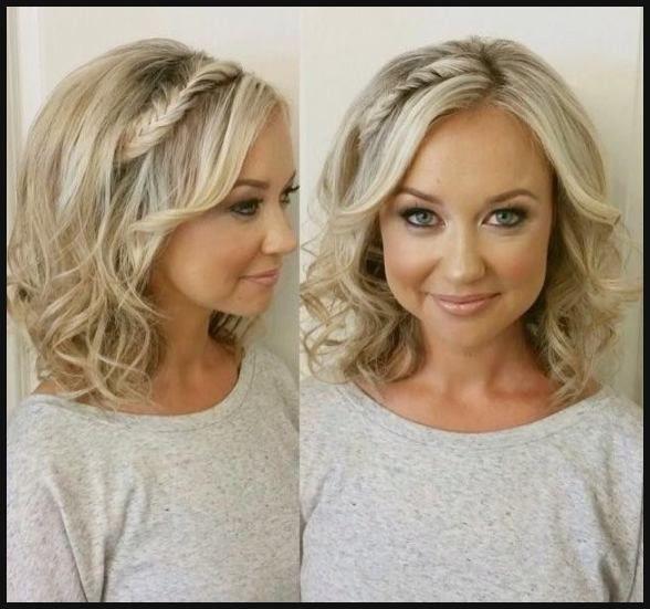 15 Trendige Frisuren Hochzeit Mittellanges Haar 2018 In Bezug Auf