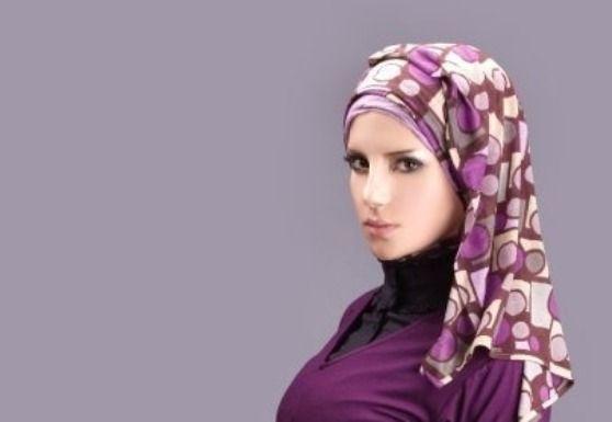 Stunning Purple Hijab Styles